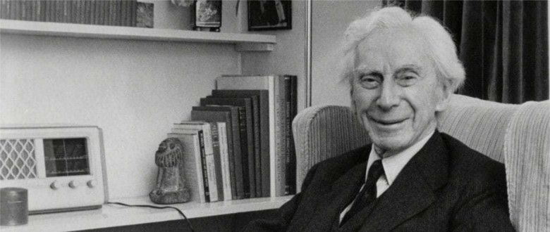 Books on or by Bertrand Russell Header
