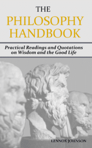 The Philosophy Handbook Cover